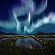 Leinwandbild Motiv Aurora Borealis