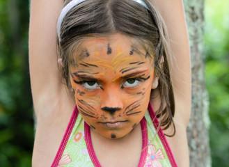 petite tigresse fâchée