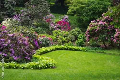 Plexiglas Tuin Kompozycja ogrodowa