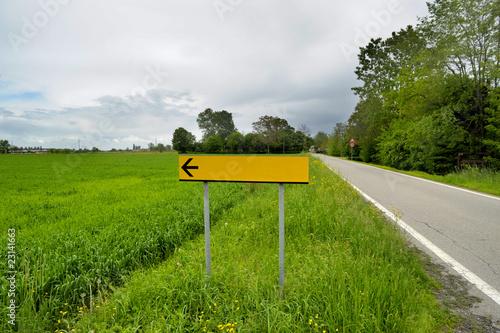 indicazione stradale