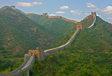 China and the great wall poster