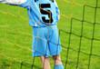 Fußball Spieler am Tor - Soccer