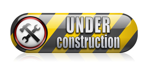 Under contruction icon/button