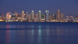 San Diego City skyline