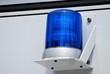 Stabil montiertes Blaulicht