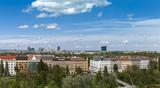 Skyline Vienna Prater - Danube poster