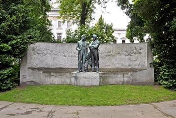 Johann Strauss & Joseph Lanner Denkmal, Wien