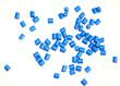 Polymergranulat freigestellt