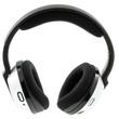 casque audio, fond blanc