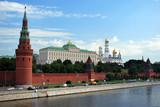 La circulation devant le Kremlin poster