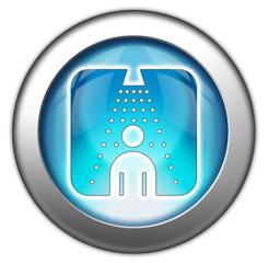 "Glossy 3D effect button ""Shower"""