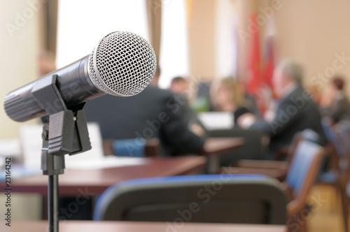 Conference Room Microphone. - 23164242