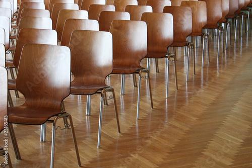 Vortrag Sitzplätze