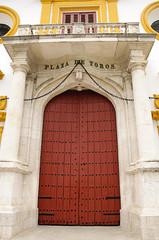 Seville bullring - Main entrance door