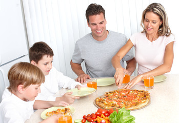 Family pizza