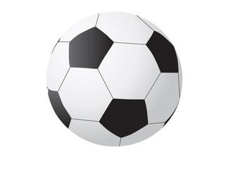 Realistic illustration of soccer ball