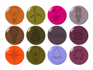 Environment icons carved_4