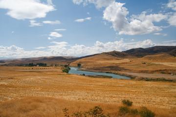 River between Ankara and Kaysery, Turkey