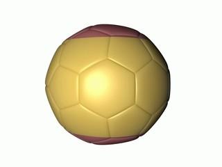 Balón futbol bandera españa