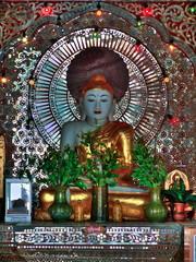 Myanmar, Bagan -  Buddha at Lawkananda Pagoda nb.3