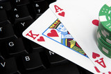Ace King online texas holdem