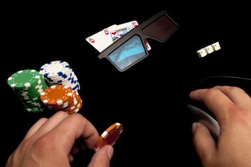 Online 3D poker