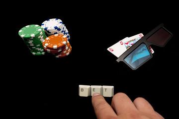 3D online poker