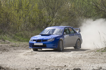 Rally competition