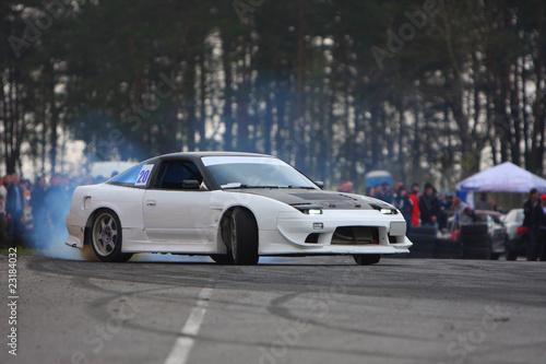 Foto op Canvas Snelle auto s Drift competition 3