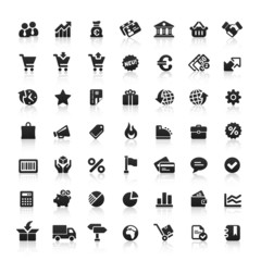 Black Website Icons