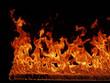 Brennende Fackel