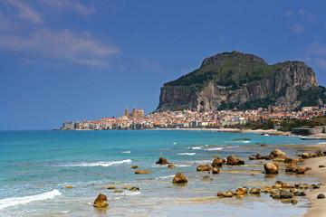 Baie de Cefalu en Sicile