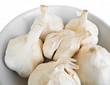 Cloves of garlic.