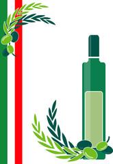 olivenöl plakat italien