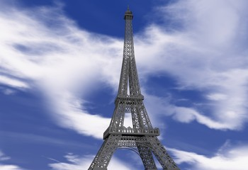 Torre Eiffel in 3D