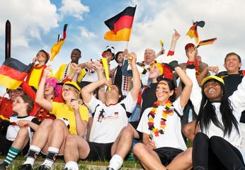 fußball, fan, deutschland