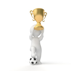 winner of the cup and ball