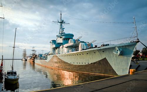 Fototapete Kriegsschiff - Puerto - Andere