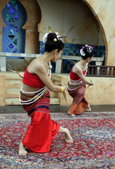 Two Thai Dancers