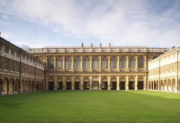 Wren Library in Trinity college Cambridge