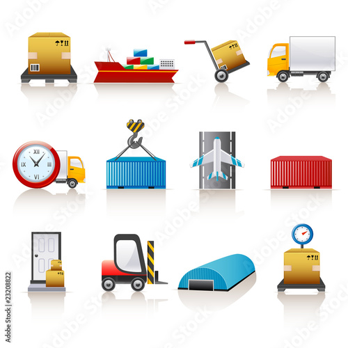 logistic icons