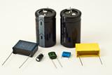 Various Capacitors Solder
