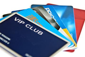 Cartes de membre privilège VIP