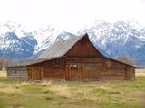 Ranch dans le grand Téton poster