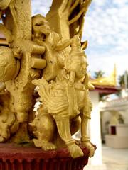 Myanmar, Inle lake - Bell of fortune detail nb.7