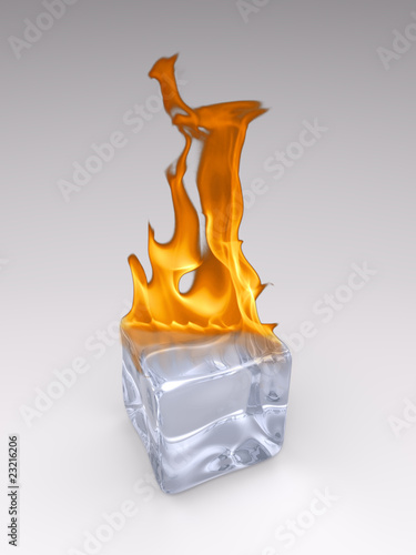 Burning Icecube