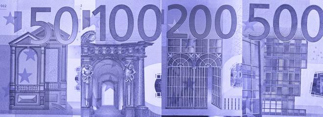 Euro Paper Bill Detail
