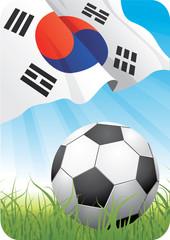 World soccer championship 2010 - Korea Republic