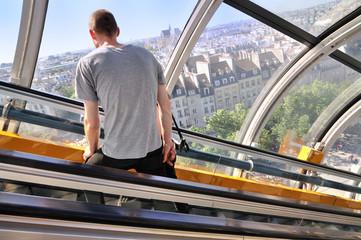 Paris centre Pompidou - Beaubourg