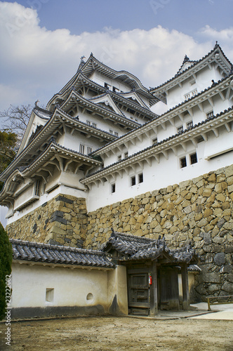 Majestic Castle of Himeji in Japan.